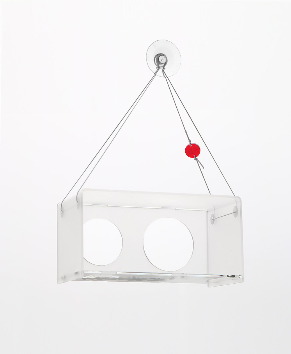 BAUHAUS bird feeder