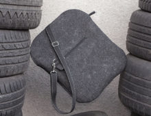 postman black bag