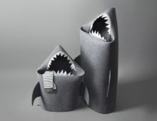 baby shark toy basket