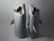 goldfish & silver jaw shark baskets