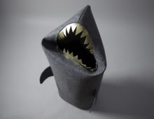 anthracite shark basket